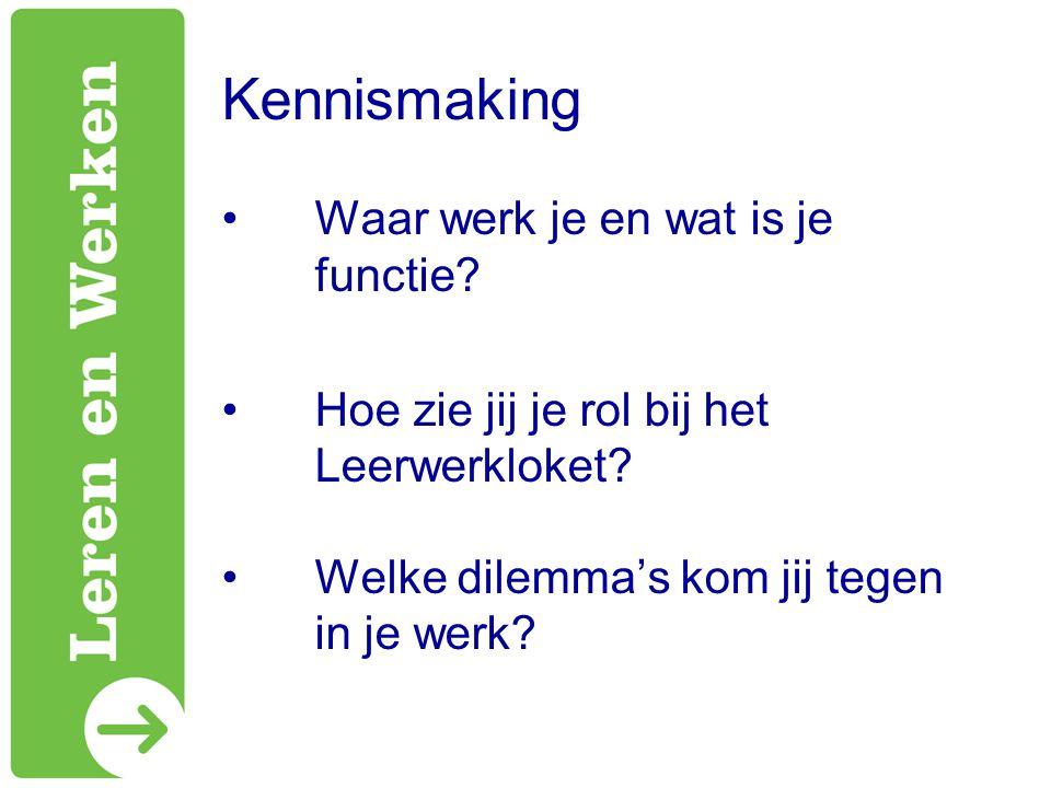 Vragen? Tips? Programmateam @ lerenenwerken.nl