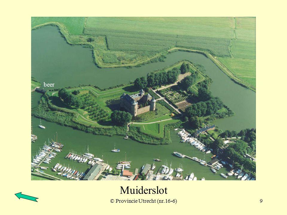© Provincie Utrecht (nr.16-2)8 Vesting Muiden en Muiderslot Westbatterij