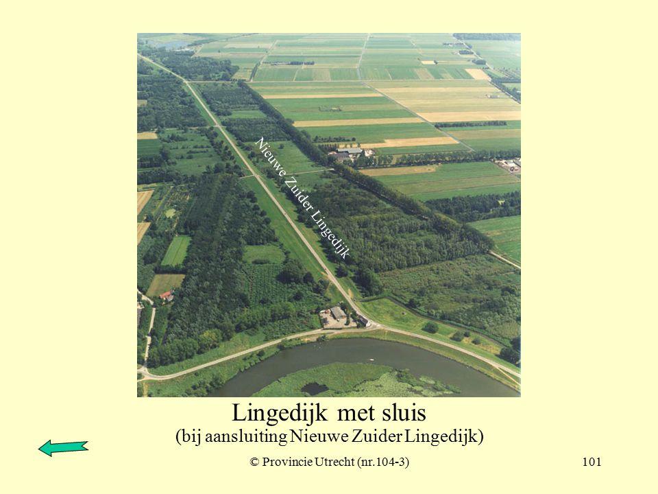 © Provincie Utrecht (nr.103-12)100 Nieuwe Zuider Lingedijk