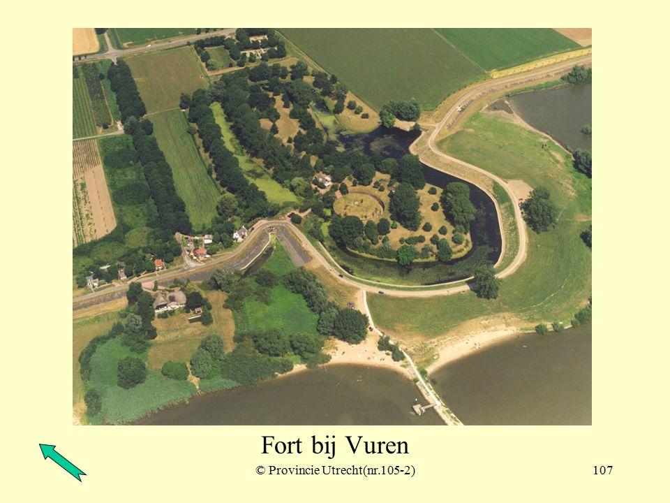 © Provincie Utrecht (nr.104-12)106 Fort bij Vuren Loevestein