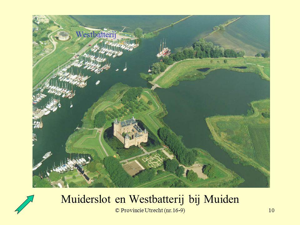 © Provincie Utrecht (nr.16-6)9 Muiderslot beer