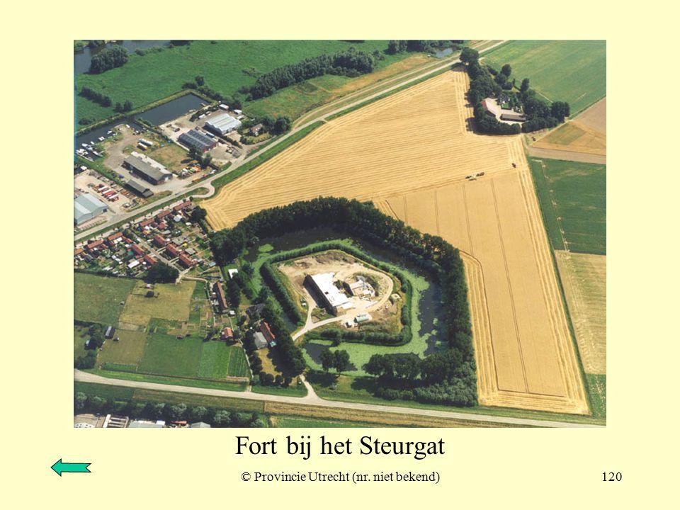 © Provincie Utrecht (106-12)119 Werk aan de Bakkerskil en inundatiesluis sluis Fort aan de Uppelsche dijk
