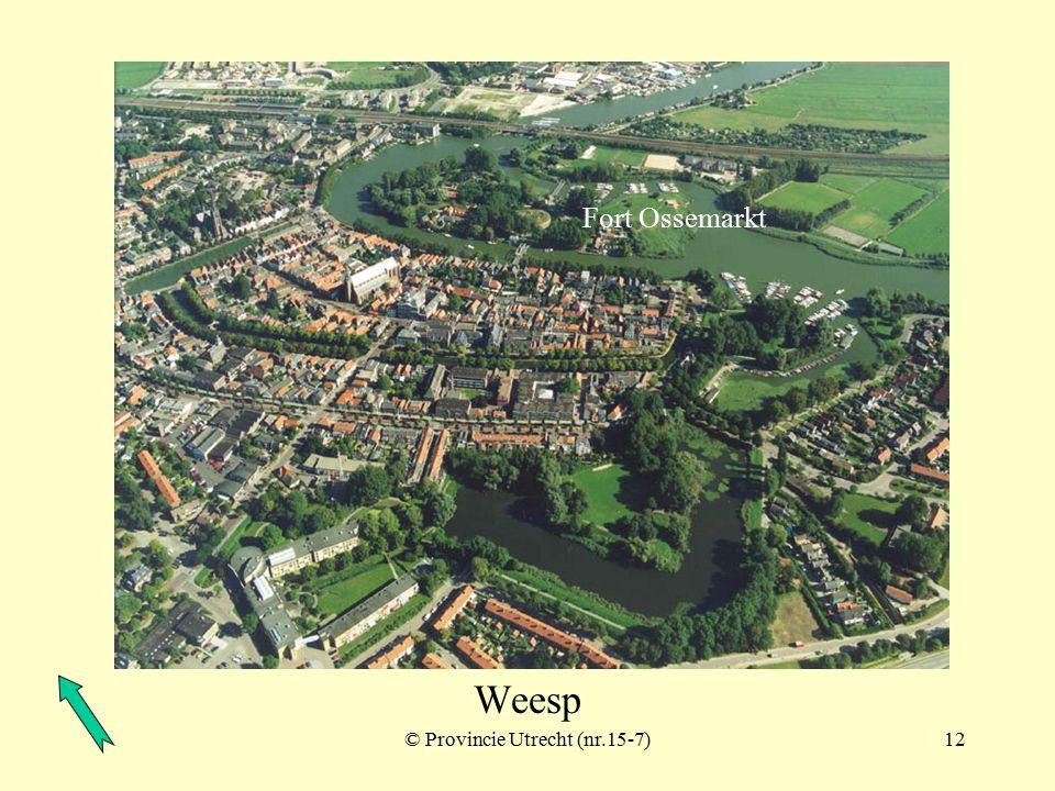 © Provincie Utrecht (nr.15-2)11 Weesp