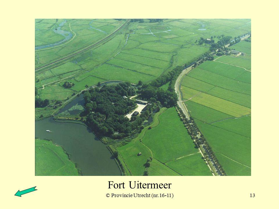 © Provincie Utrecht (nr.15-7)12 Weesp Fort Ossemarkt