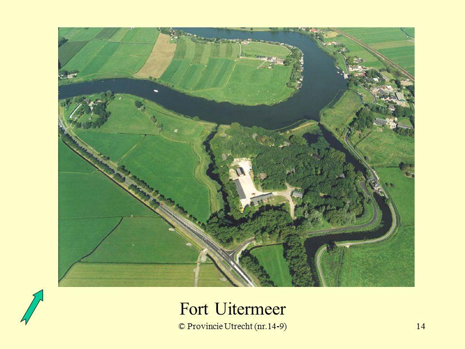 © Provincie Utrecht (nr.16-11)13 Fort Uitermeer
