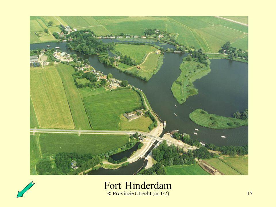© Provincie Utrecht (nr.14-9)14 Fort Uitermeer