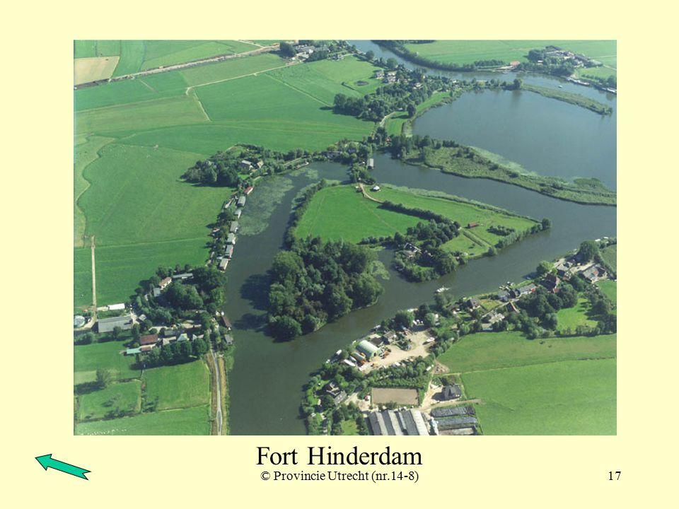 © Provincie Utrecht (nr.1-5)16 Fort Hinderdam