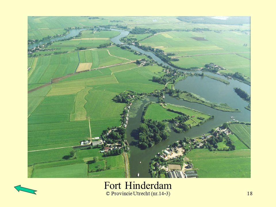 © Provincie Utrecht (nr.14-8)17 Fort Hinderdam