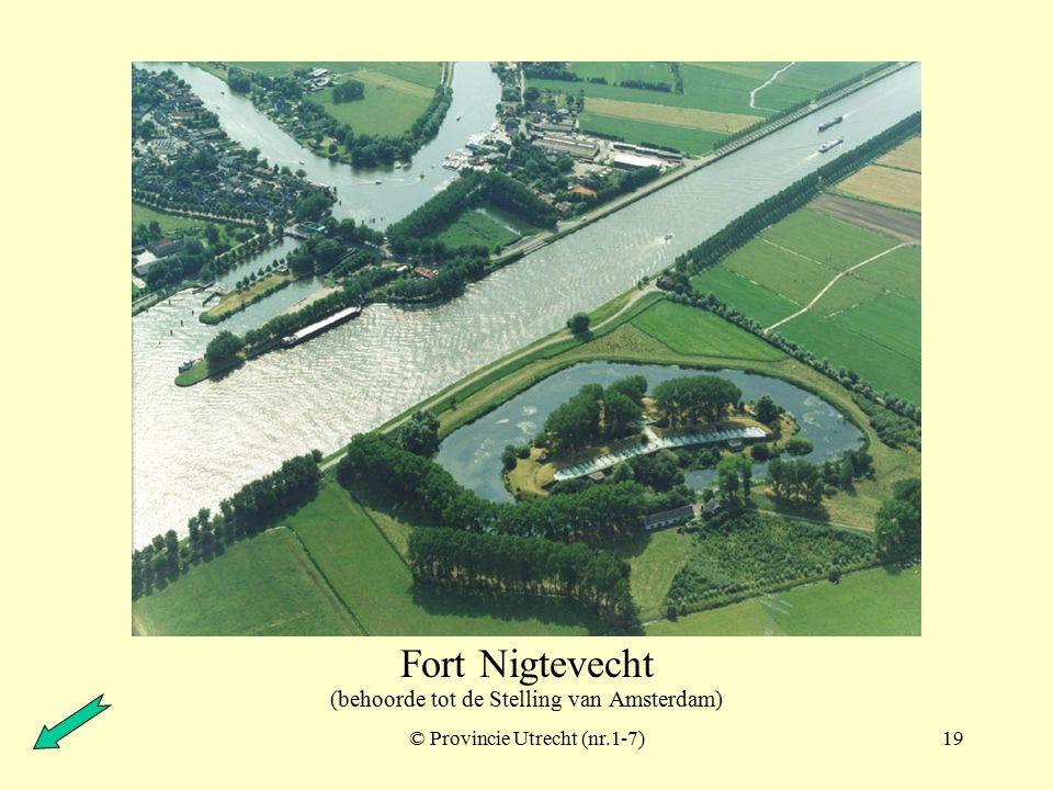 © Provincie Utrecht (nr.14-3)18 Fort Hinderdam