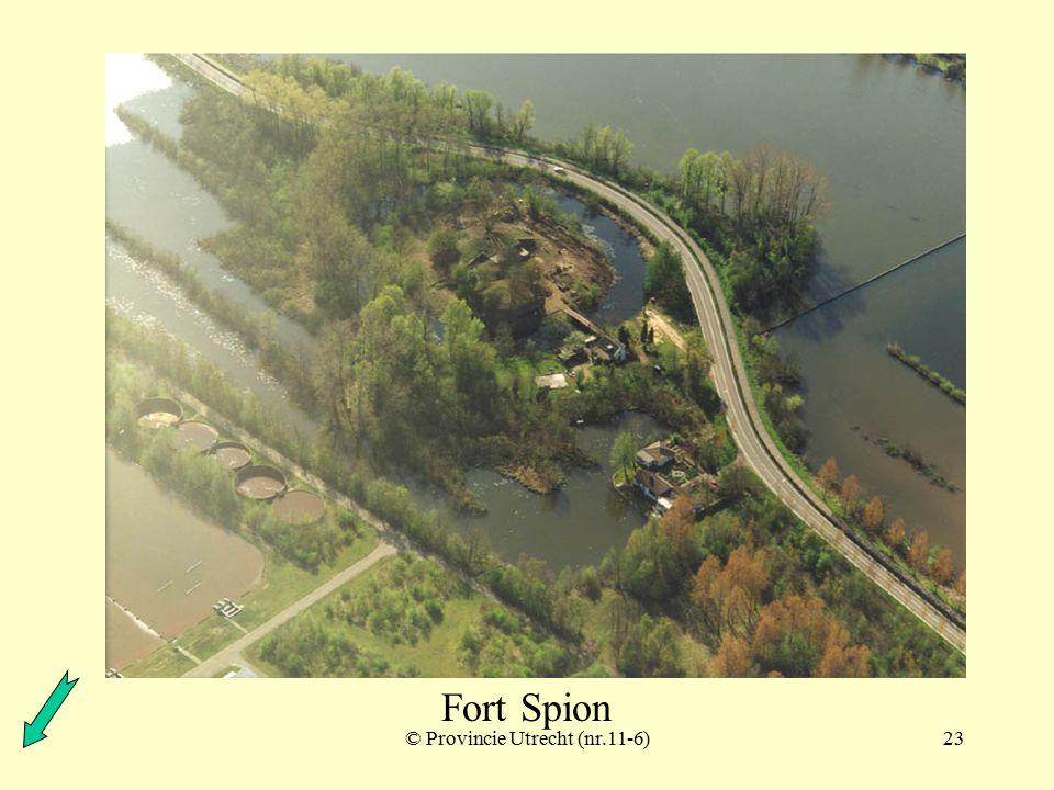 © Provincie Utrecht (2-11)22 Fort Spion ook wel: Redoute op de Bloklaan