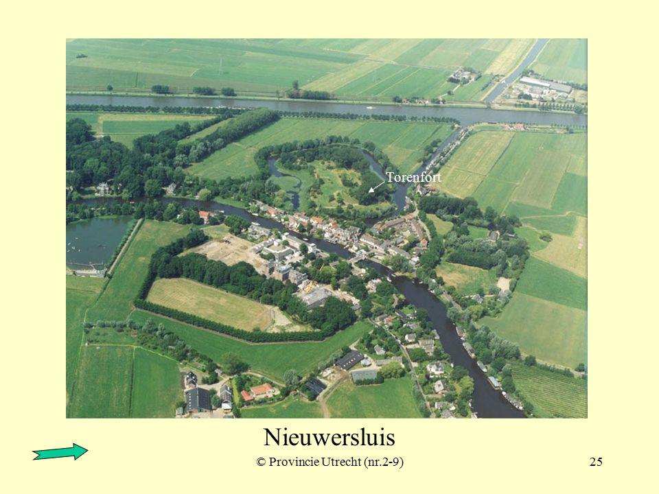 © Provincie Utrecht (nr.2-4)24 Nieuwersluis
