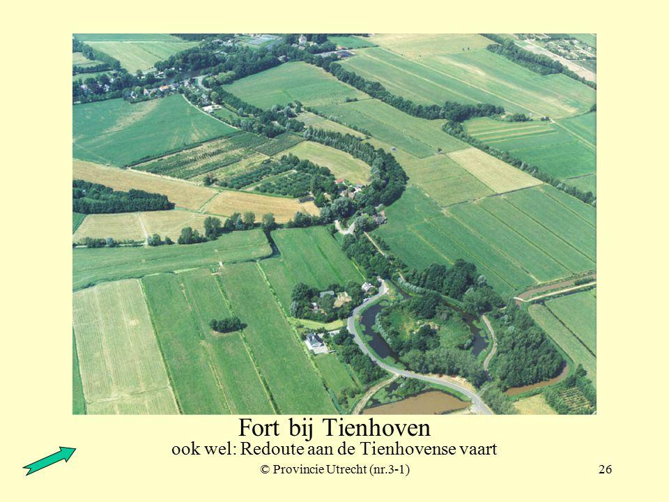 © Provincie Utrecht (nr.2-9)25 Nieuwersluis Torenfort