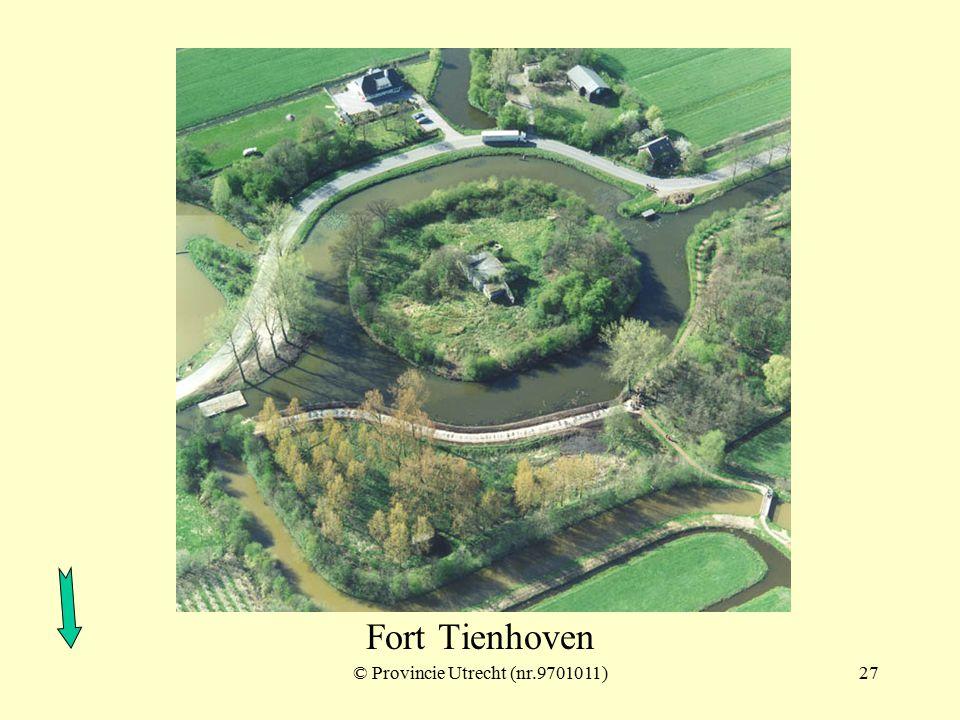 © Provincie Utrecht (nr.3-1)26 Fort bij Tienhoven ook wel: Redoute aan de Tienhovense vaart