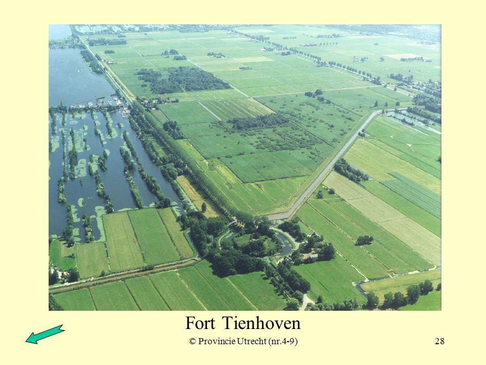 © Provincie Utrecht (nr.9701011)27 Fort Tienhoven
