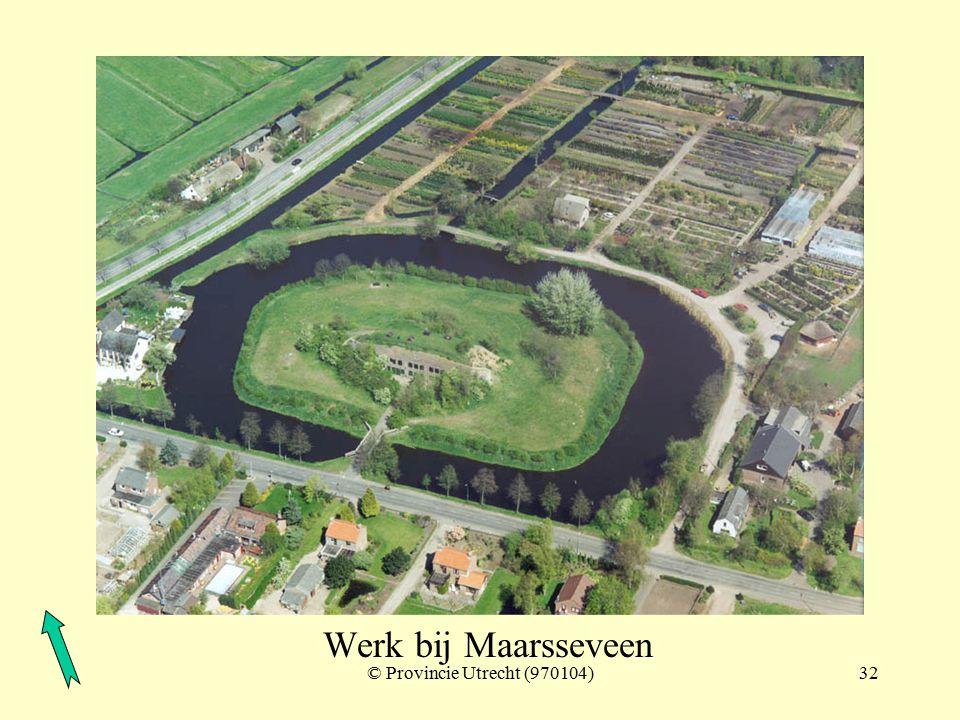 © Provincie Utrecht (nr.5-8)31 Polder Maarsseveen met Nieuwe Weg - inundatiegebied