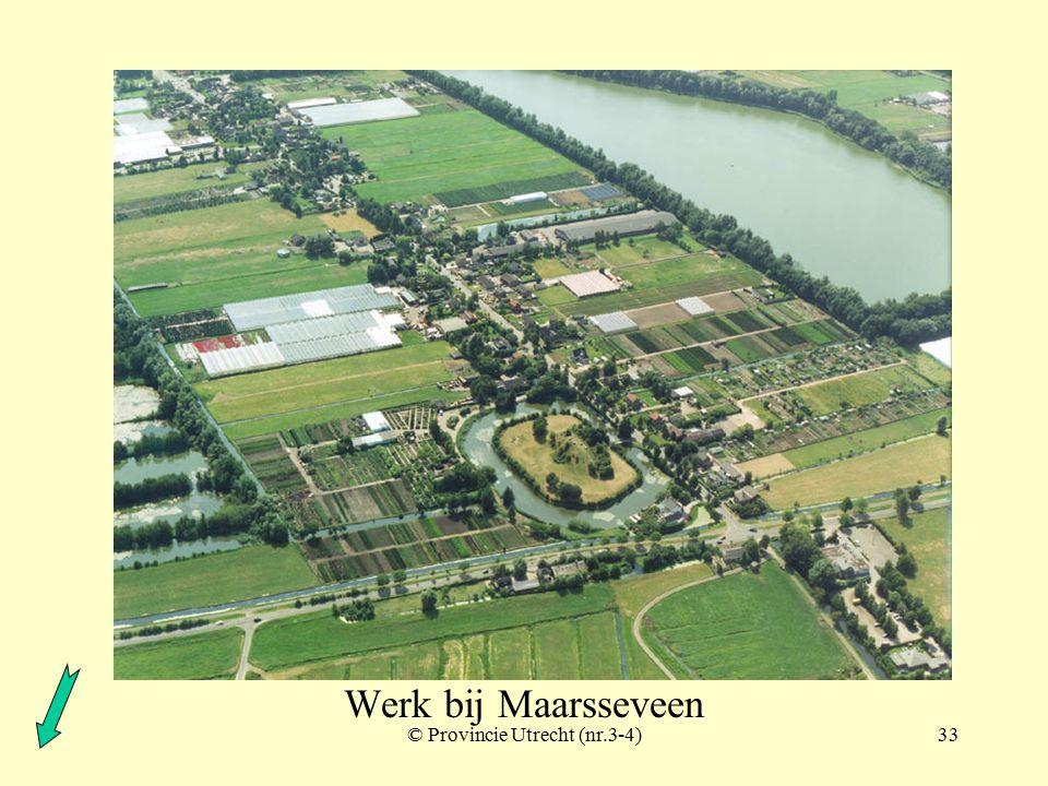 © Provincie Utrecht (970104)32 Werk bij Maarsseveen