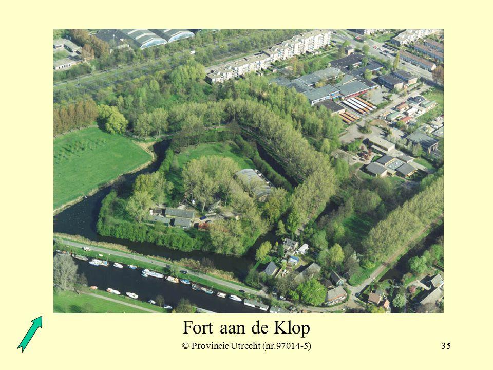 © Provincie Utrecht (nr.4-12)34 Fort aan de Klop