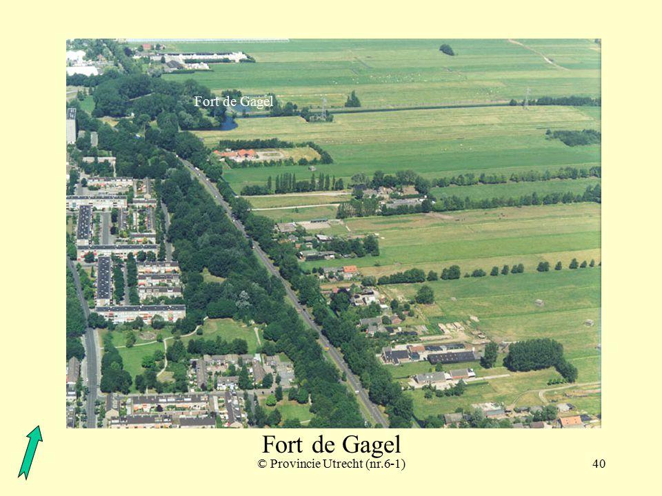 © Provincie Utrecht (nr.3-6)39 Fort de Gagel