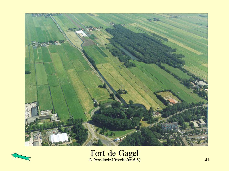 © Provincie Utrecht (nr.6-1)40 Fort de Gagel