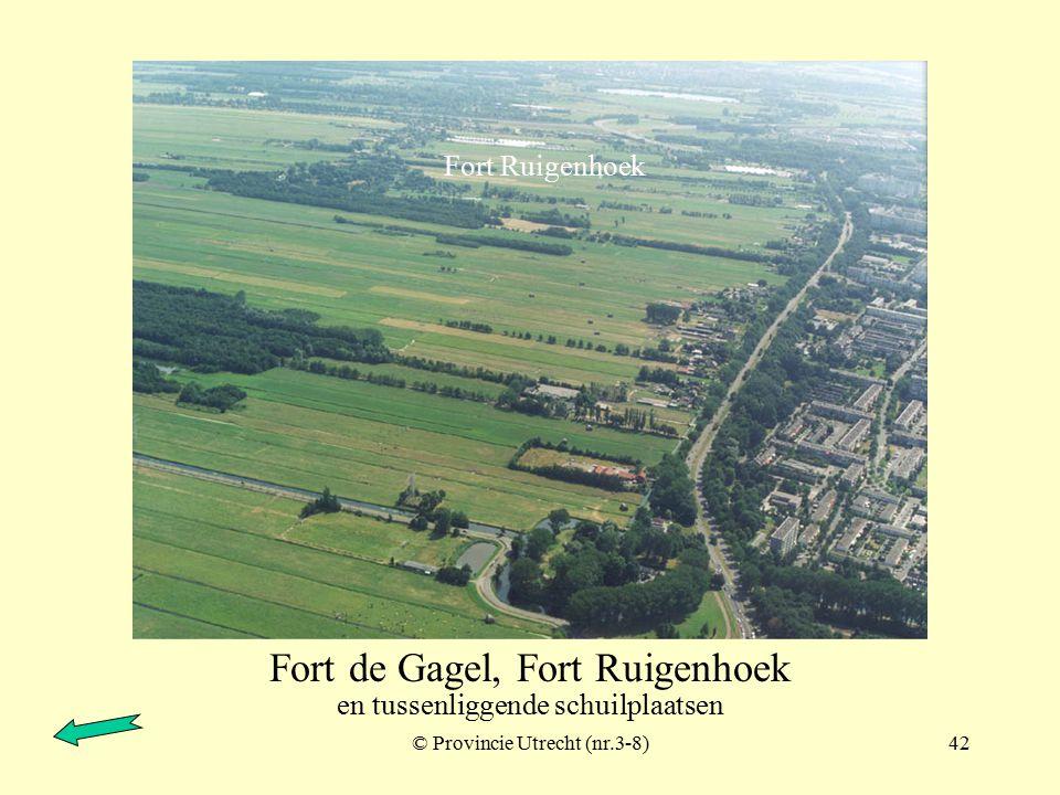 © Provincie Utrecht (nr.6-8)41 Fort de Gagel