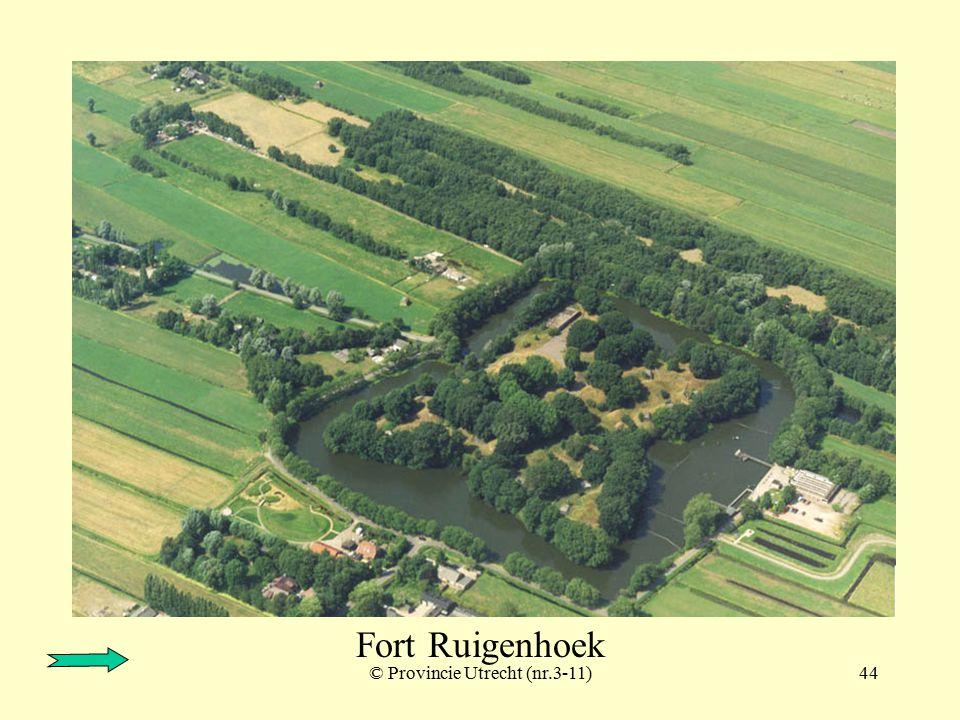 © Provincie Utrecht (nr.6-10)43 Fort Ruigenhoek