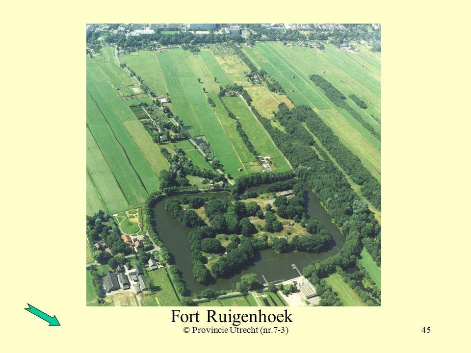 © Provincie Utrecht (nr.3-11)44 Fort Ruigenhoek