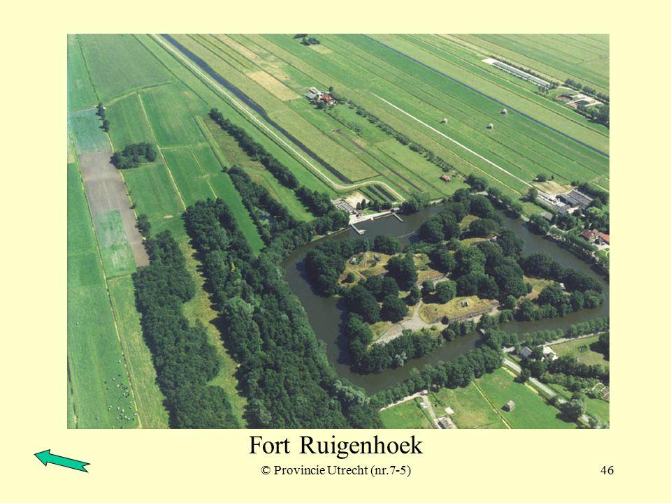 © Provincie Utrecht (nr.7-3)45 Fort Ruigenhoek