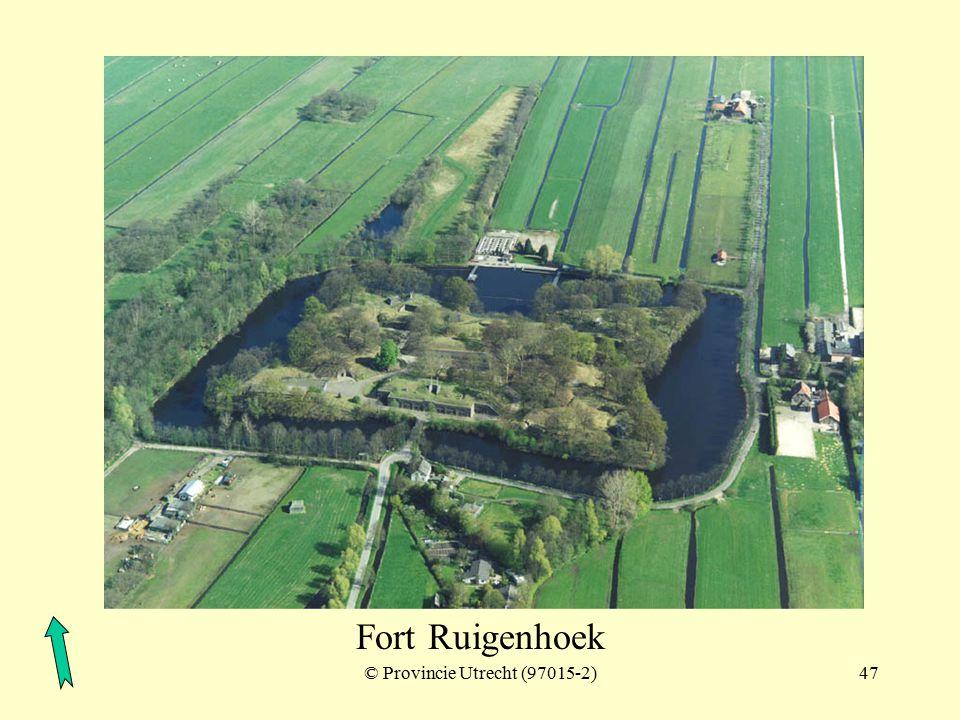 © Provincie Utrecht (nr.7-5)46 Fort Ruigenhoek