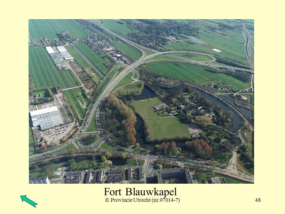 © Provincie Utrecht (97015-2)47 Fort Ruigenhoek