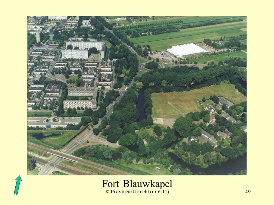 © Provincie Utrecht (nr.97014-7)48 Fort Blauwkapel