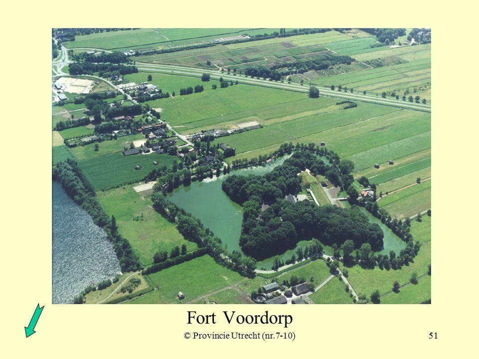 © Provincie Utrecht (nr.7-1)50 Fort Blauwkapel polder Ruigenhoek met schuilplaatsen Fort