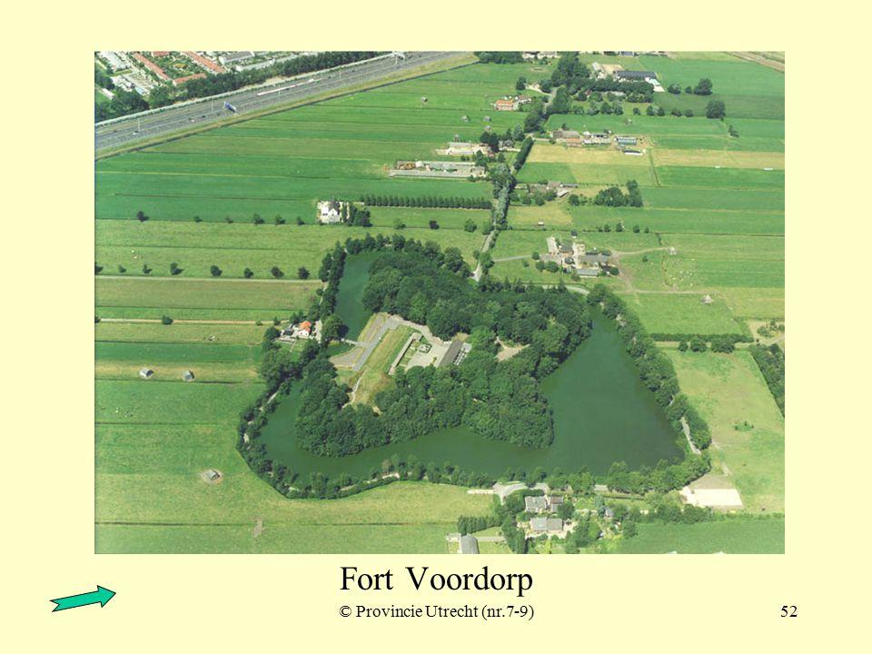 © Provincie Utrecht (nr.7-10)51 Fort Voordorp