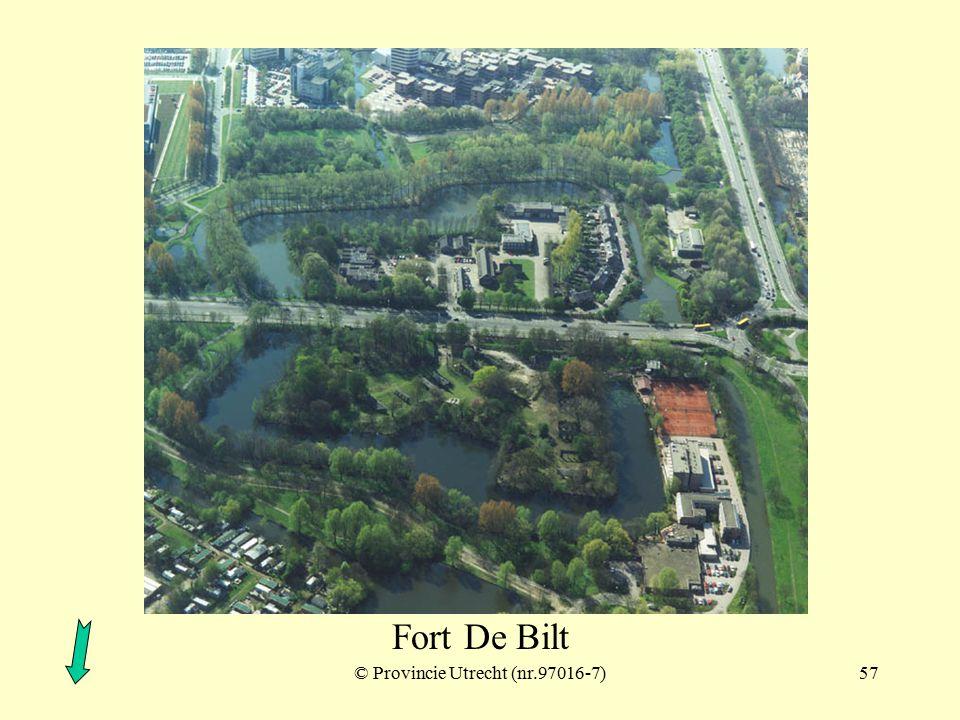 © Provincie Utrecht (nr.97016-10)56 Fort De Bilt