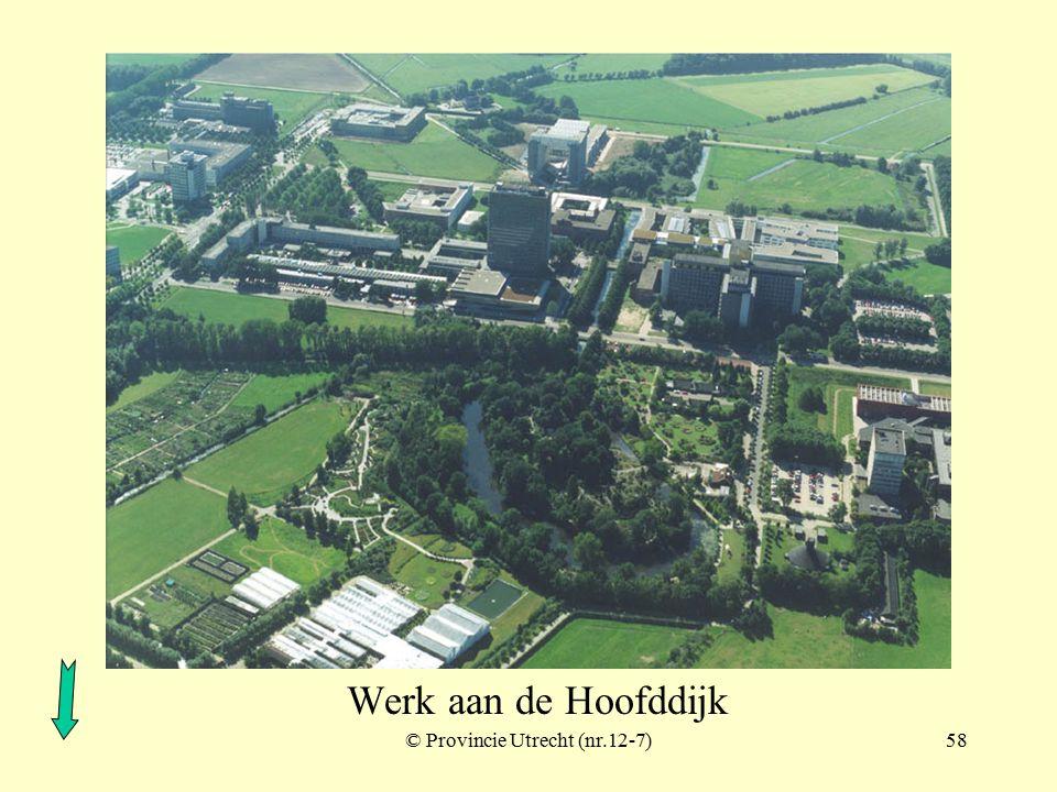 © Provincie Utrecht (nr.97016-7)57 Fort De Bilt