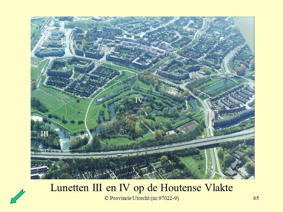 © Provincie Utrecht (nr.97022-6)64 Lunetten I en II op de Houtense Vlakte I II