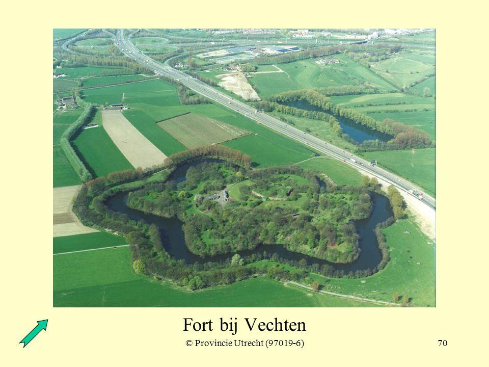 © Provincie Utrecht (97019-5)69 Fort bij Vechten en Fort bij Rijnauwen Fort bij Rijnauwen