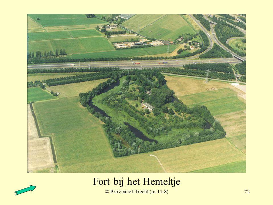 © Provincie Utrecht (nr.11-6)71 Fort bij het Hemeltje en Fort bij Vechten Fort bij Vechten