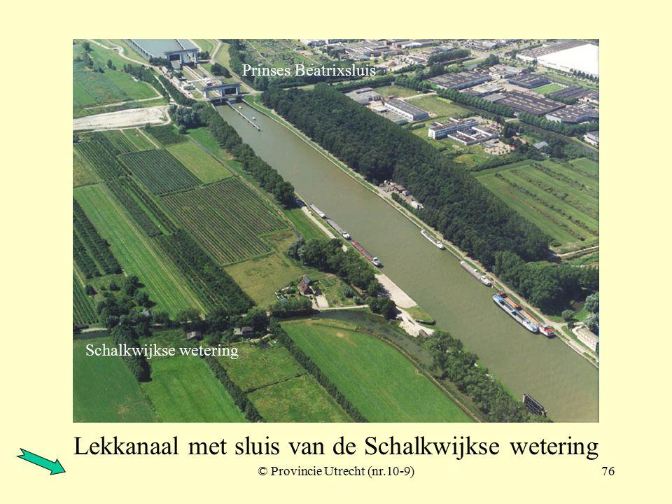 © Provincie Utrecht (nr.97027-7)75 Plofsluis