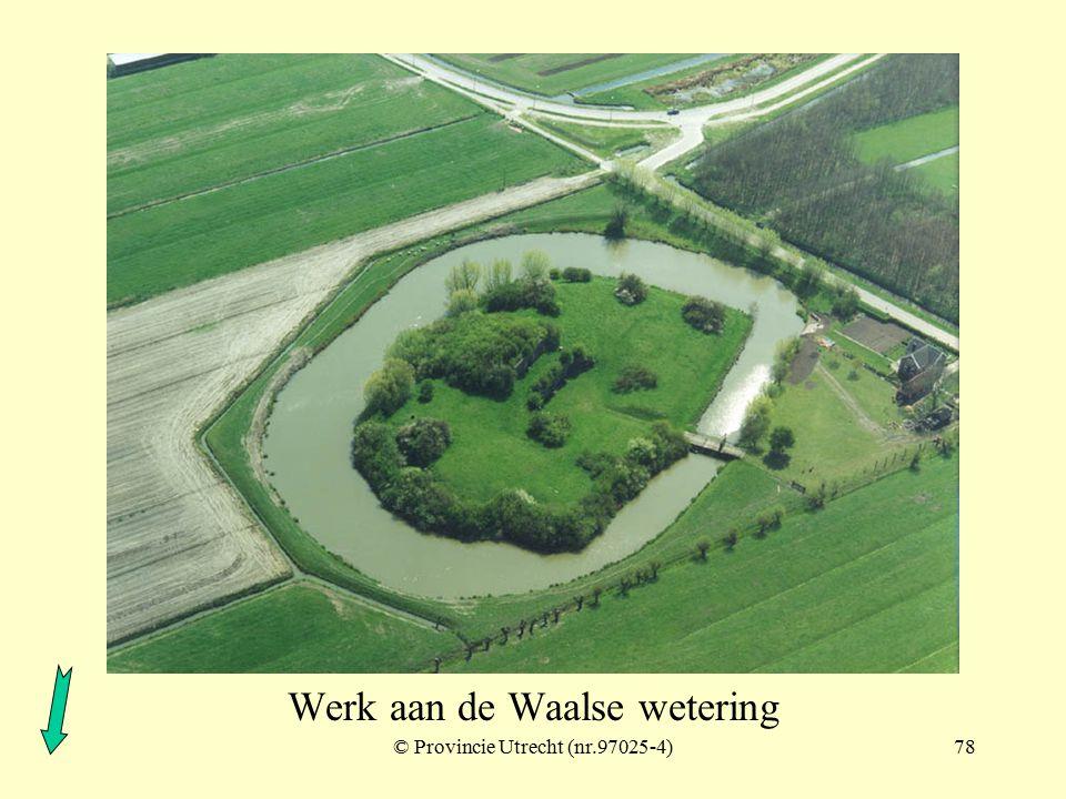 © Provincie Utrecht (nr.97024-9)77 Fort bij Vreeswijk Kazemat Vreeswijk west