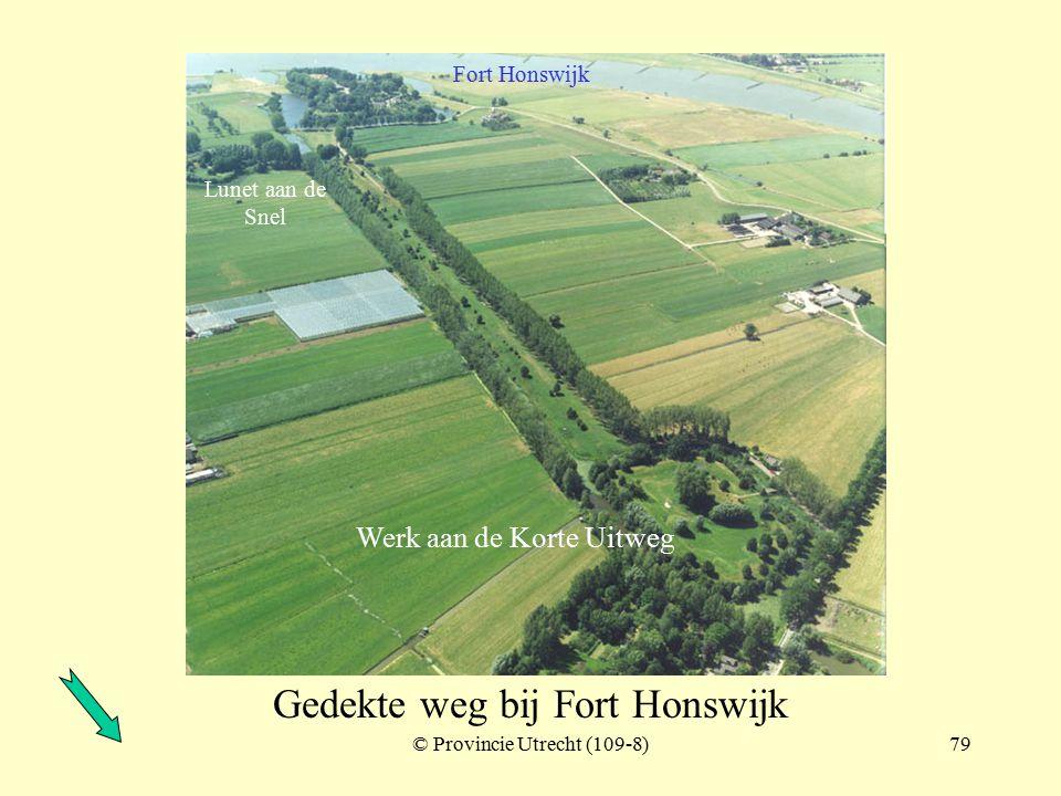 © Provincie Utrecht (nr.97025-4)78 Werk aan de Waalse wetering