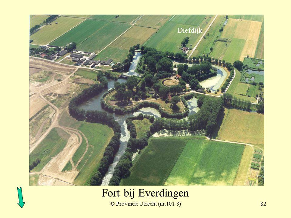 © Provincie Utrecht (nr.11-11)81 Werk aan de Groeneweg Fort bij Everdingen