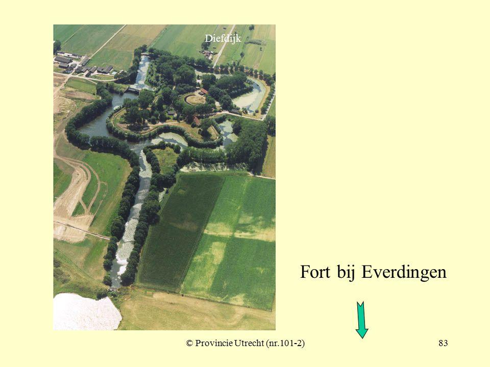 © Provincie Utrecht (nr.101-3)82 Fort bij Everdingen Diefdijk