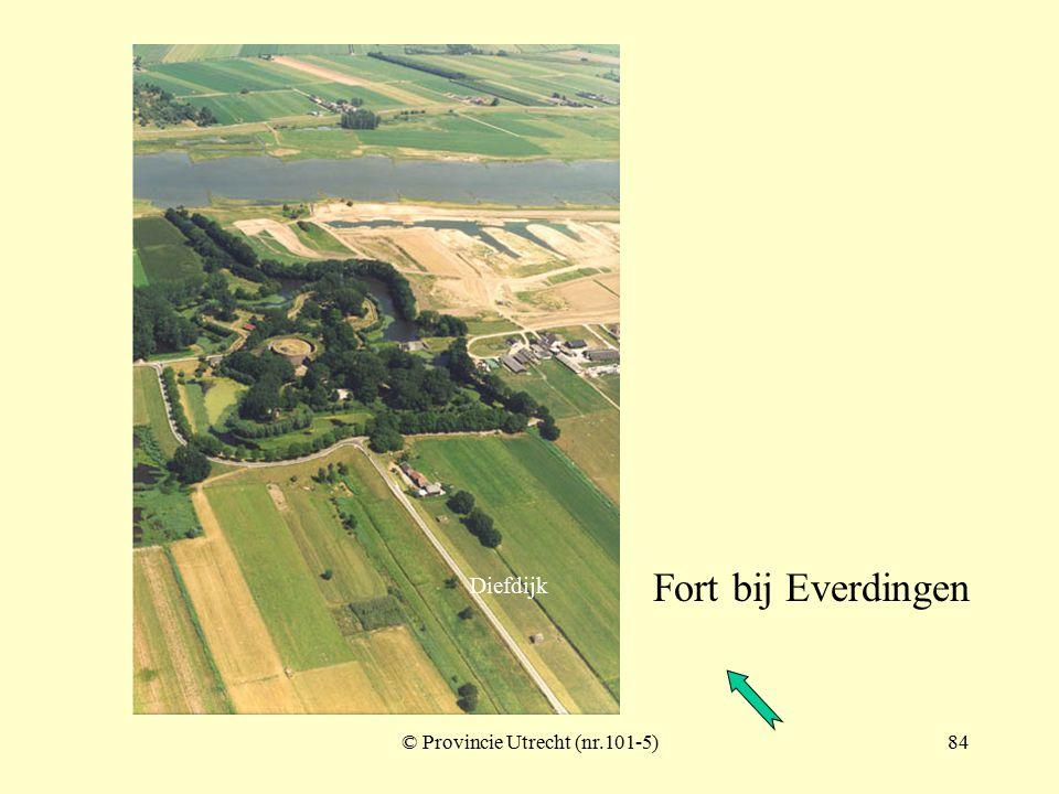 © Provincie Utrecht (nr.101-2)83 Fort bij Everdingen Diefdijk