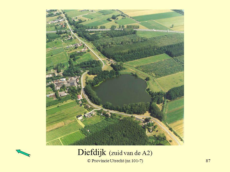 © Provincie Utrecht (101-9)86 Diefdijk (zuid van de A2)