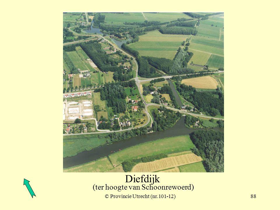 © Provincie Utrecht (nr.101-7)87 Diefdijk (zuid van de A2)