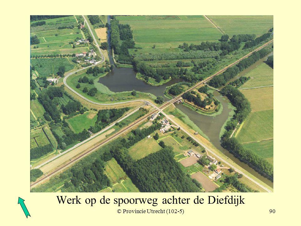 © Provincie Utrecht (nr.102-3)89 Diefdijk (ter hoogte van Schoonrewoerd)