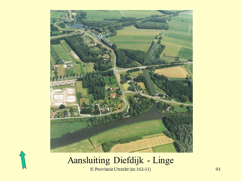 © Provincie Utrecht (nr.102-9)92 Werk op de spoorweg achter de Diefdijk Diefdijk