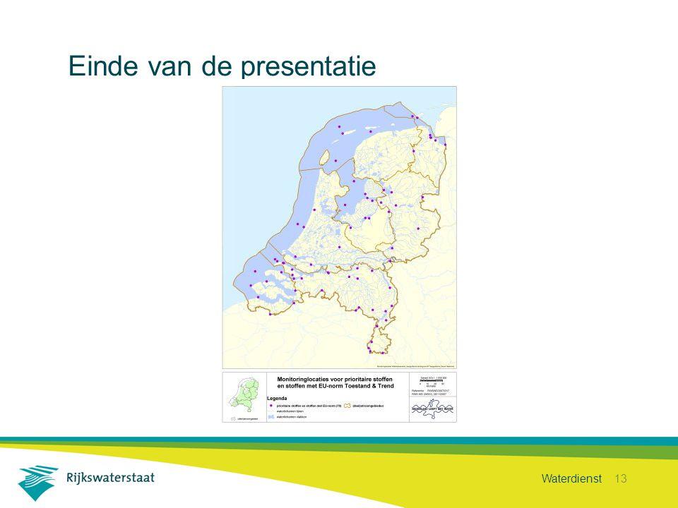 Waterdienst 13 Einde van de presentatie