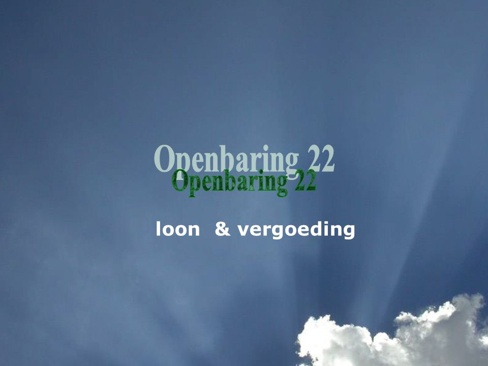 loon & vergoeding