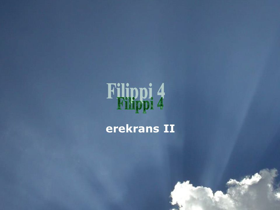 erekrans II